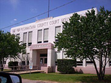 Pushmataha County District Court Pushmataha County Courthouse In